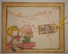 Α girly card #cards #handmade for  memascrafts.blogspot.gr/   craftycroppersgr.blogspot.gr