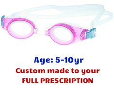 b5ab2900dceb5  5-10 yrs  Kids Prescription Swim Goggles PE8 (Custom Made to Prescription)  - Pink