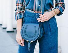 Blue Chloe bag - Sydne Style