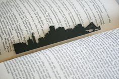 San Francisco California Handcut Silhouette by GracefulDiligence California Cool, San Francisco California, San Francisco Giants, San Francisco Skyline, 49ers Fans, Great Father, Black Paper, Wedding Favors, Fathers Day