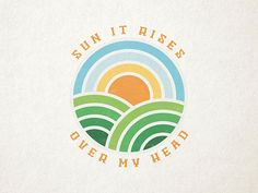 Sun it rises drib Simon Walker, Sun Life Financial, Energy Symbols, Nature Symbols, Earth Logo, Sun Illustration, Film Logo, Logo Psd, Sun Logo