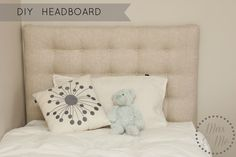 Max and Me: DIY Headboard and Bed Make-Over