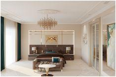 Проект спальни в частном доме GK design studio