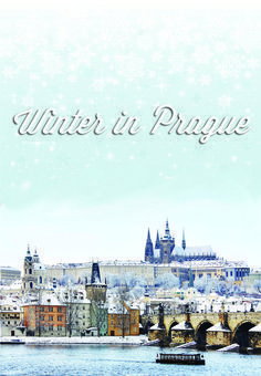 Come to Prague in winter and you'll experience a magical city, especially during Xmas time! Wintertime is the time of Christmas markets, but there's more to do in Prague in winter. #winter #prague