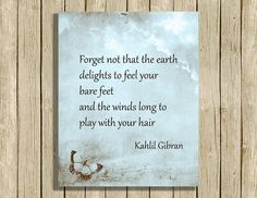 printable wall art poetry quote instant download 8 x 10 inspirational nature…