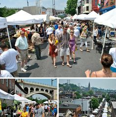 Click for uwishunu's Guide to The 2012 Manayunk Arts Fest, June 23-24. (Photos courtesy Manayunk Development Corporation)