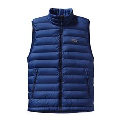 Patagonia Men\'s Down Sweater Vest - Channel Blue CHB