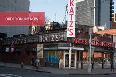 My Father used to take me here as a child. It's still the same and one of my favorite places in NY. A lot of memories associated with this location and some of the other shops that used to be in the same neighborhood.     Katzs in New York