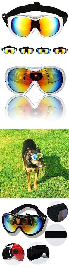 Sunglasses and Goggles 116376: Hi Kiss Dog Goggles Large Sunglasses Uv Protection For Driving Cycling And -> BUY IT NOW ONLY: $30.3 on eBay!