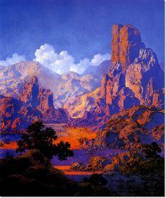 Maxfield Parrish - Arizona Painting