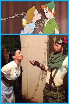 Peterpan and Wendy Steampunk