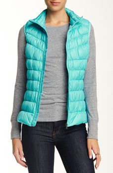 Be - Stand Collar Down Vest