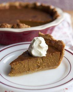 Thanksgiving Recipe: Classic Pumpkin Pie