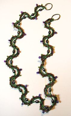 Beading Arts: Seed bead necklace
