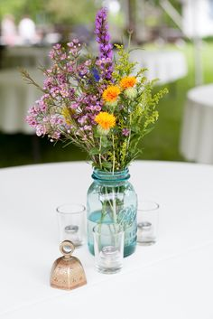 Wildflower Centerpieces                                                       …