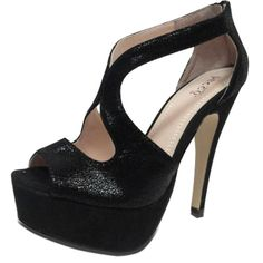 https://www.cityblis.com/4421/item/8485 | Elyse Pumps - $80 by Bucco Shoes | The Bucco Elyse Pumps with it's cutout upper and peep-toe design give these women's pumps a high fashion look.  -    Quality Synthetic -    Pump Platform -    Lightly Padded footbed  | #Heels