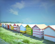 Cabana, British Beaches, Hut House, Beach Cottages, Beach Houses, Coastal Living, Brighton, Seaside, Bathing
