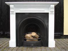 Cast Iron Fireplace   eBay
