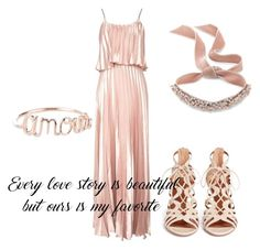A fashion look from August 2017 featuring long maxi dresses, high heels sandals and choker necklaces. Browse and shop related looks. Percy Jackson Cabins, Oh My Love, Greek Mythology, Aphrodite, Aquazzura, Love Story, Inspired, Polyvore, Stuff To Buy