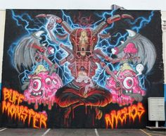 by Buff Monster + Nychos in Hawaii (LP)