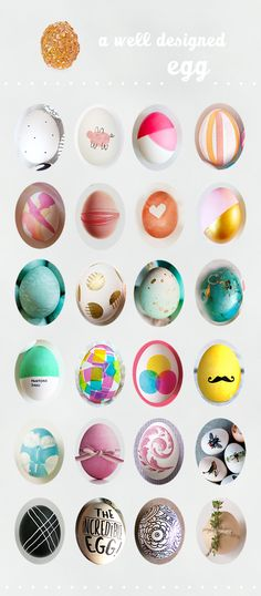Easter Eggs A Subtle Revelry. Inspiration for an Easter card or layout. Design my own eclectic Easter eggs.