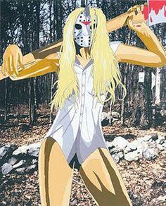 Female Jason Voorhees by Thrashmaniacwarrior Scary Movies, Horror Movies, Horror Icons, Jason Voorhees, Witch Art, Princess Zelda, Disney Princess, Disney Characters, Fictional Characters