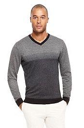 'Milton' | Silk-Cashmere V-Neck Sweater #bossblack