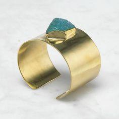 Matter of Fakt Raw Stone Freeform Bracelet