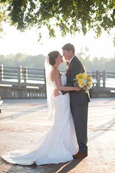 A Navy and Yellow North Carolina Wedding
