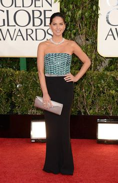 Olivia Munn in Giorgio Armani @ 2013 Golden Globes