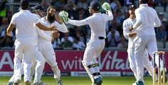 England complete a stunning innings victory over India with two days of the fourth Test to spare at Old Trafford. Cricket Games, Old Trafford, New England, Victorious, Manchester, India, Running, News, Ali
