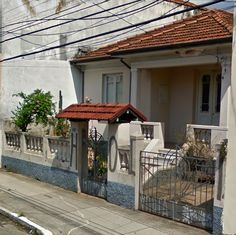 Old house in Sao Paulo, Brazil