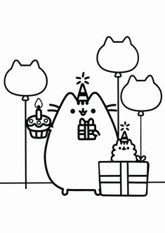 Beautiful pusheen coloring pages for your little one. They are free and easy to print. The collection is varied with different variations and characters. Pusheen Coloring Pages, Farm Coloring Pages, Cartoon Coloring Pages, Free Printable Coloring Pages, Kids Coloring, Pusheen Book, Minecraft Coloring Pages, Cute Kawaii Drawings, Cute Cartoon Wallpapers