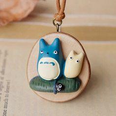 Totoro Long Necklace //Price: $8.99 & FREE Shipping //     #studioghibli