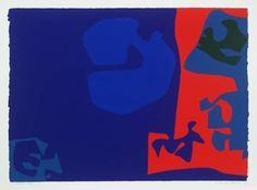 Patrick Heron--early textile design via V & A Museum Patrick Heron Tate Museum Patrick Heron via artnet--love this! Patrick H. Abstract Painters, Abstract Art, Franco Fontana, Patrick Heron, V & A Museum, Pattern Art, Textile Design, African, Painting