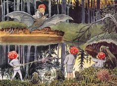 Tomtebobarnen, written and ill. by Elsa Beskow, 1910