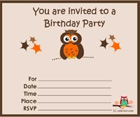 Cute woodland birthday card printable free birthday printables i have prepared these adorable free printable owl birthday party invitations to help you make your birthday celebratons more colorful convenient and fun bookmarktalkfo Image collections