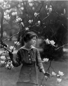 Author Edna St. Vincent Millay by Arnold Genthe, 1914