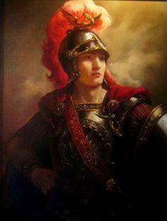 Александр Великий. - художник Андрей Шишкин