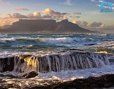 HD wallpaper - Landscapes - Cape Town, south africa, the ocean, the mountains - Scenic Photography, Landscape Photography, Photography Tips, Nature Photography, Places Around The World, Around The Worlds, Tourist Center, Ocean Shores, Cape Town South Africa