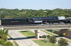FRISCO, Texas – Former Union Pacific 4-8-8-4 Big Boy No. 4018 finally reached the Museum of the American Railroad's new site in Frisco on Sunday. The locomotive had been moved from Dallas to Irving on Aug. 18. Due to the late hour of arrival in Irving, officials decided to tie the train down for the night instead of running the remaining 25 miles to Frisco. What a big- bad- boy. www.batsbirdsyard.com = bat houses