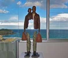 Bruno Catalano - The Boxer - Modus Art Gallery- Bronze Sculpture from the french artist bruno catalano