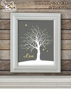 Custom Family Tree Art Baby Nursery Art Wall Décor for Playroom Baby Room Nursery Gift Artwork – One (1) 8x10 Print on Etsy, $17.00