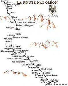 La route Napoleon, France