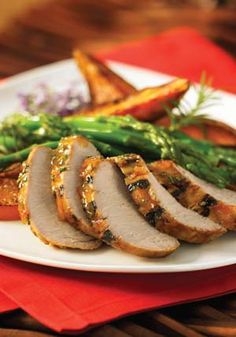 Gluten free pork tenderloin is very easy to make and a flavorful meat recipe, however, this one has the easiest, yet best, marinade glaze! Pork Tenderloin Recipes, Pork Recipes, Pork Meals, Pork Chops, Glazed Pork, Easter Dinner, Holiday Recipes, Holiday Ideas, Marmalade