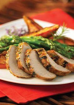Gluten-Free Marmalade-Glazed Pork Tenderloin Recipe