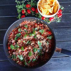 Edel's Mat & Vin : Meksikansk gryte med ris ¸¸.•*¨*•♫♪