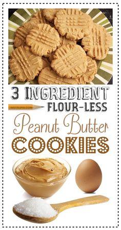 Easy Peanut Butter Cookie Recipe (just 3 ingredients!) Easy Peanut Butter Cookie Recipe (just 3 ingredients! Hot Fudge Cake, Hot Chocolate Fudge, Fudge Recipes, Cookie Recipes, Dessert Recipes, Gf Recipes, Ketogenic Recipes, Baking Recipes, Super Easy Dessert Recipe