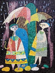Evelyn Ackerman mosaic beauty.