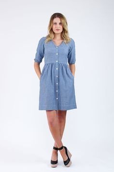 Darling Ranges dress sewing pattern